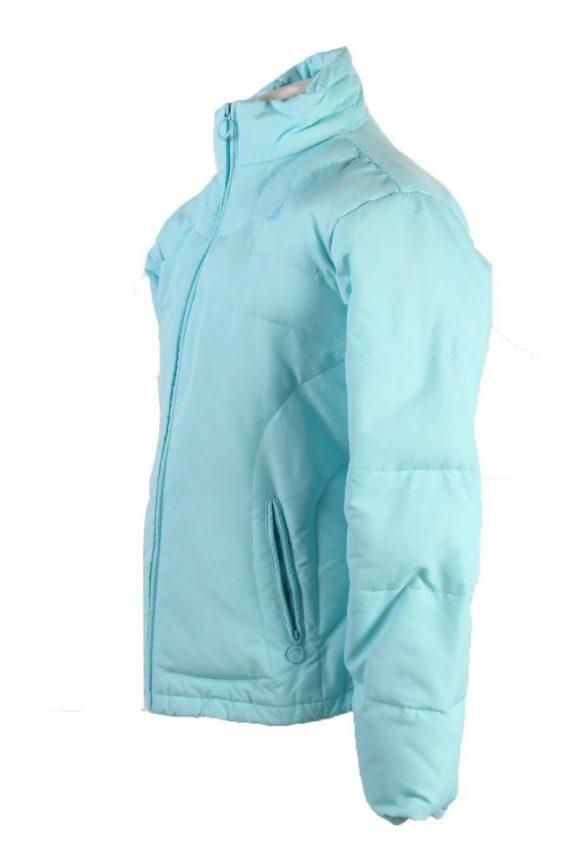 Vintage Adidas Winter Puffer Coat 14 Turquoise -C1603-117514