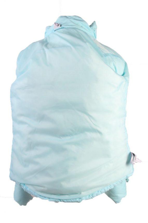 Vintage Adidas Winter Puffer Coat 14 Turquoise -C1603-117516