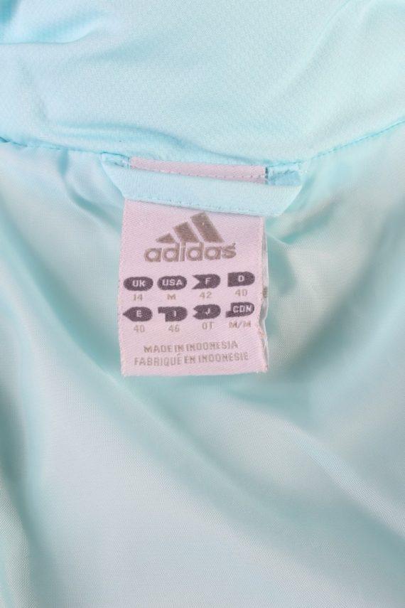 Vintage Adidas Winter Puffer Coat 14 Turquoise -C1603-117517