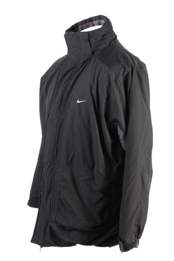 Vintage Nike Winter Puffer Coat M Black -C1608-117490