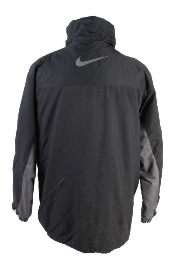 Vintage Nike Winter Puffer Coat M Black -C1608-117491