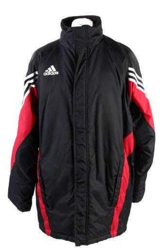 Vintage Adidas Winter Puffer Coat 42 Multi