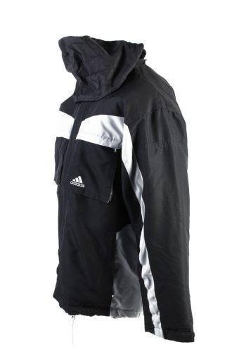 Vintage Adidas Winter Puffer Coat M Black -C1617-117529