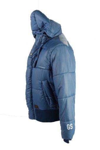 Vintage GStar Winter Puffer Coat XL Blue -C1624-117614
