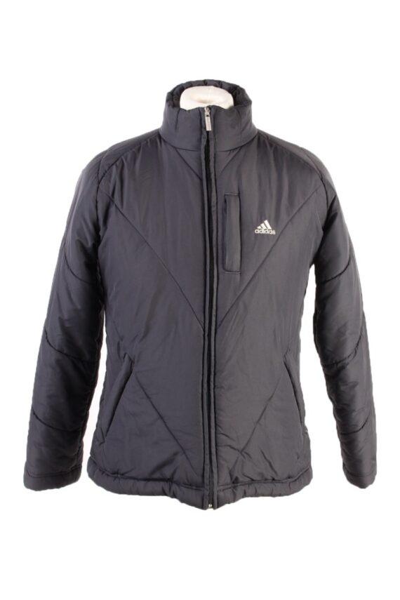 Vintage Adidas Winter Puffer Coat 14 Black -C1628-0