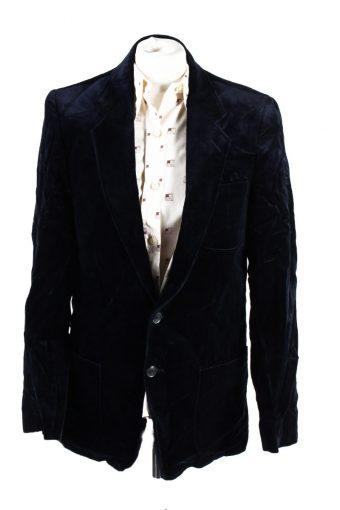 Vintage Viersener Lamt Soft Velvet Jacket 182 Dark Blue