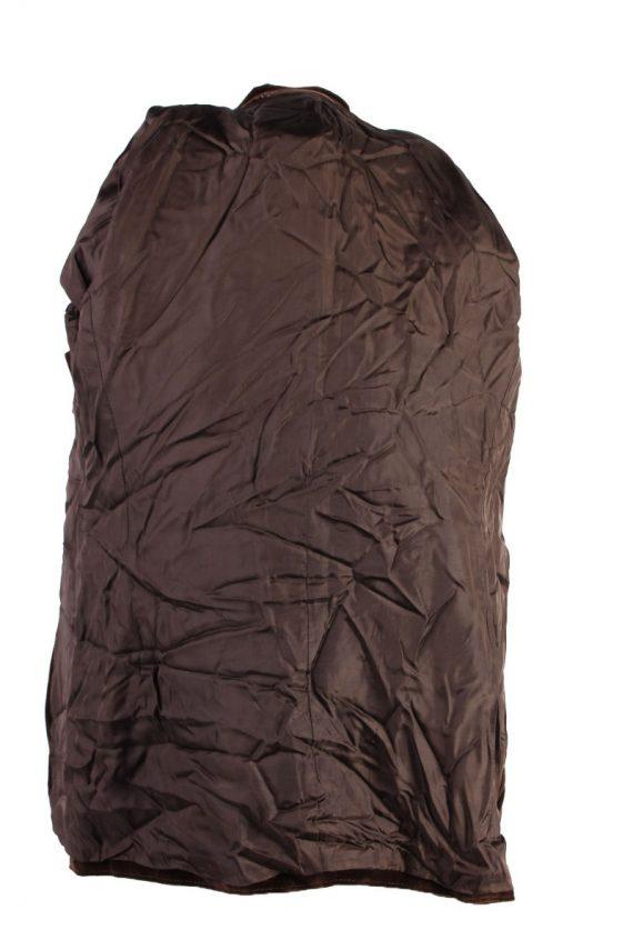 Vintage Soft Velvet Jacket Brown -C1637-117855