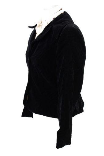 Vintage Dixie Geister Soft Velvet Jacket 42 Black -C1638-117850
