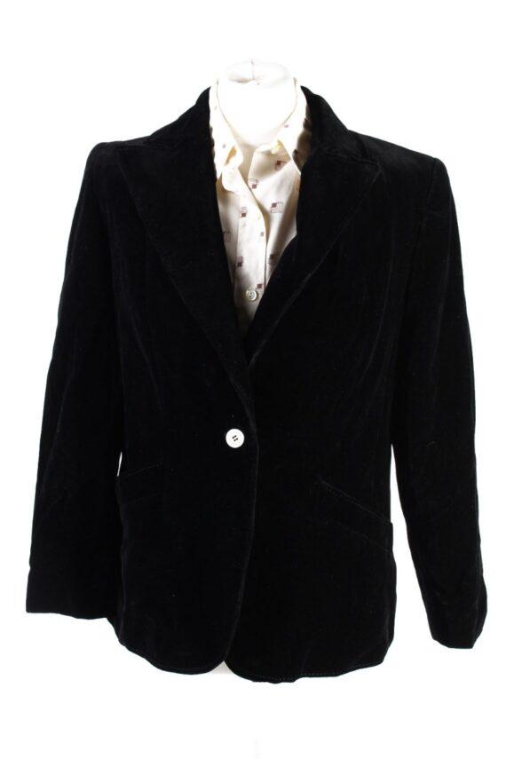 Vintage Rawe Rheda Soft Velvet Jacket 42 Black -C1643-0