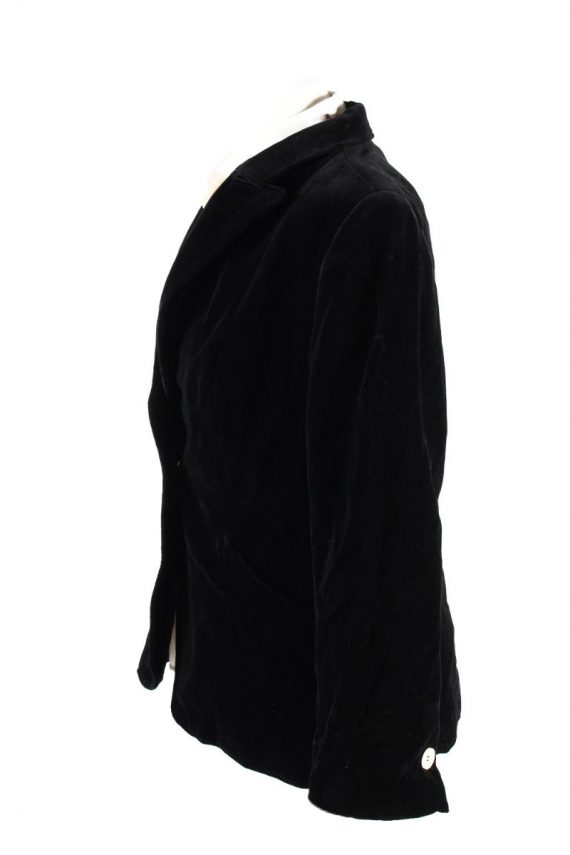 Vintage Rawe Rheda Soft Velvet Jacket 42 Black -C1643-117831