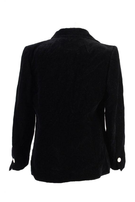 Vintage Rawe Rheda Soft Velvet Jacket 42 Black -C1643-117832