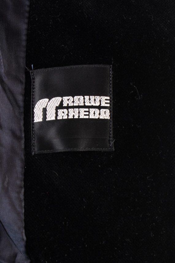 Vintage Rawe Rheda Soft Velvet Jacket 42 Black -C1643-117833