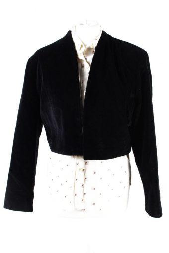 Vintage Avalanche Soft Velvet Jacket 2 Black