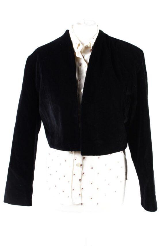 Vintage Avalanche Soft Velvet Jacket 2 Black -C1647-0