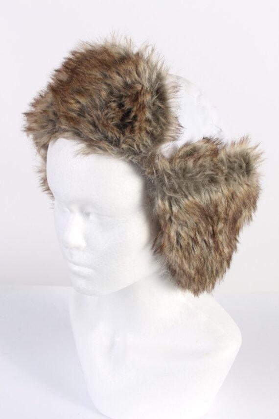 Vintage Fur Russian Style Genuine Hat Multi HAT496-0