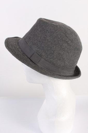 Vintage Trilby Genuine Hat Grey HAT530-119016