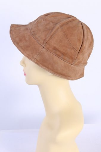 Vintage Hat Casual Fashion Winter Suede Cap Camel HAT593-119056