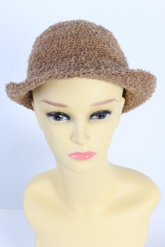 Vintage Hat 1990S Fashion Warm Winter Camel HAT595-0