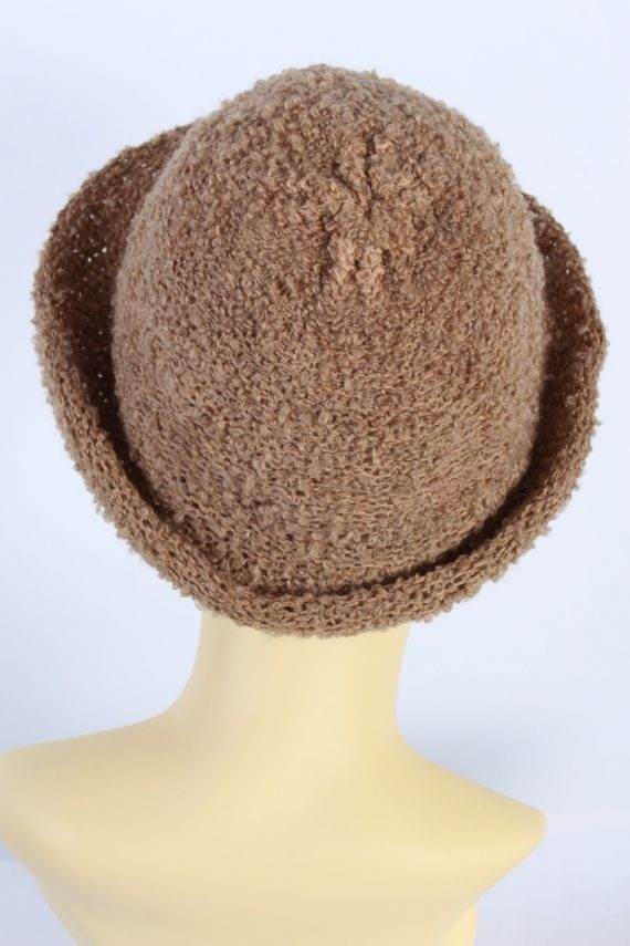 Vintage Hat 1990S Fashion Warm Winter Camel HAT595-119049