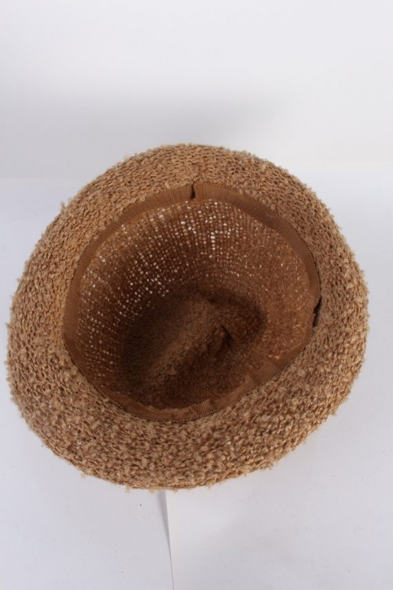 Vintage Hat 1990S Fashion Warm Winter Camel HAT595-119050