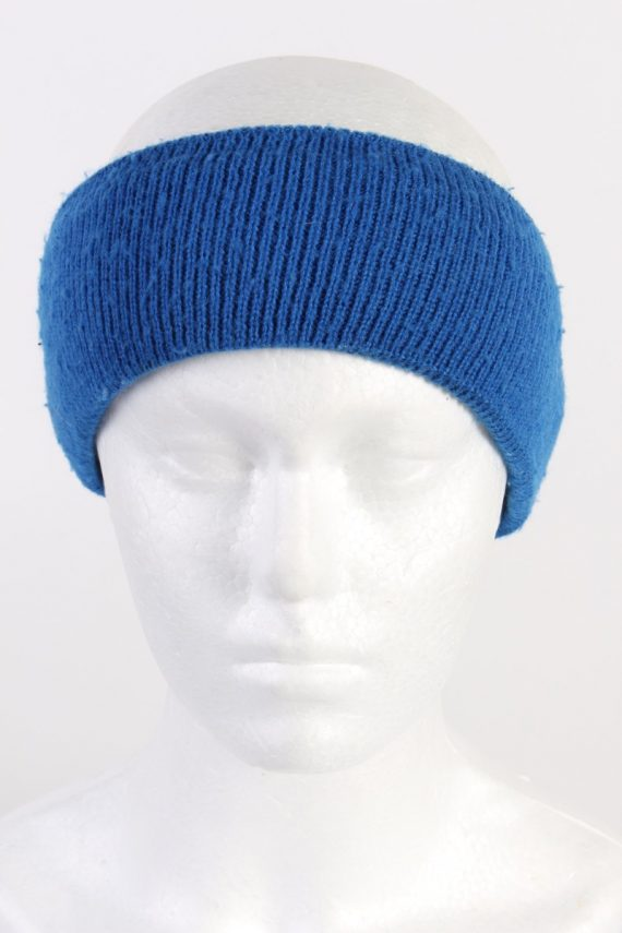 Vintage Knit Headband Blue HB021-0