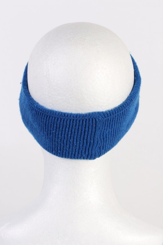 Vintage Knit Headband Blue HB021-118386