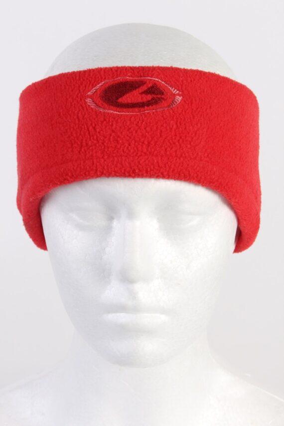 Vintage Fleece Headband Red HB027-0