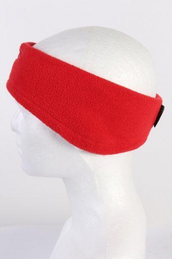 Vintage Fleece Headband Red HB027-118403