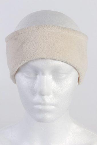 90s Fleece Headband Cream