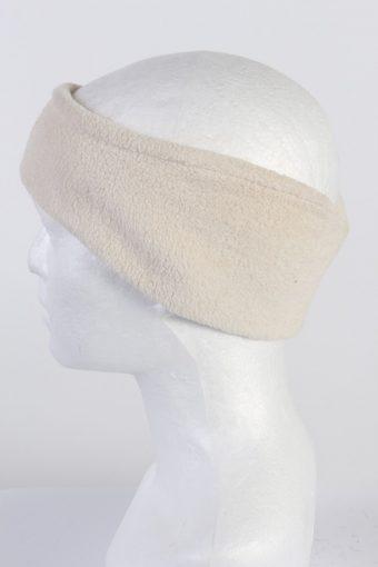 Vintage Fleece Headband White HB029-118409