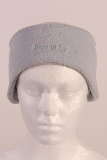 90s Fleece Headband Baby Blue