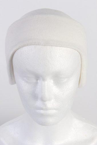 90s Fleece Headband White