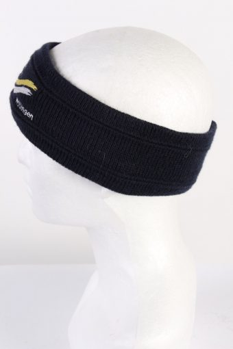 Vintage Knit Headband Black HB040-118232