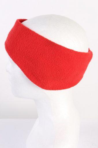 Vintage Fleece Headband Red HB042-118226
