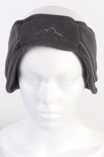 90s Fleece Headband Grey