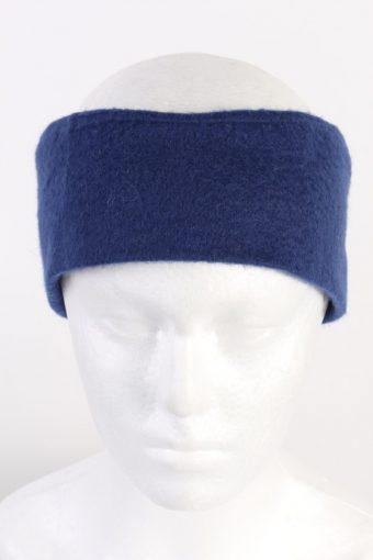 90s Fleece Headband Navy
