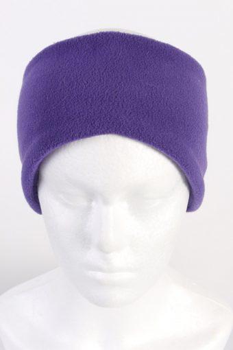 90s Fleece Headband Purple