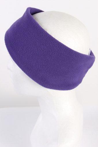 Vintage Fleece Headband Purple HB048-118208