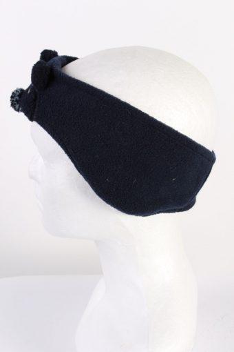 Vintage Fleece Headband Dark Blue HB053-118193