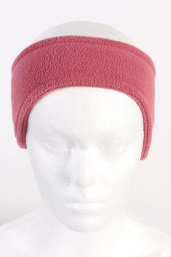 90s Fleece Headband Girls Coral