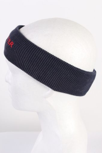 Vintage Knit Headband Dark Blue HB059-118175