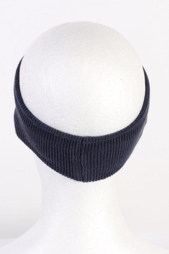 Vintage Knit Headband Dark Blue HB059-118176