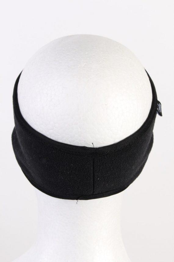 Vintage Polar Sport Fleece Headband Black HB062-118320