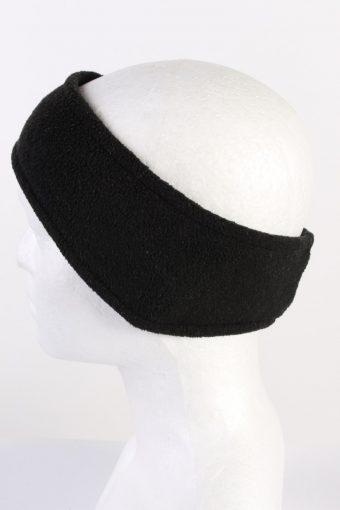 Vintage Gina Benotti Fleece Headband Black HB064-118313