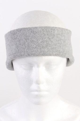 90s Fleece Headband Grey Grey
