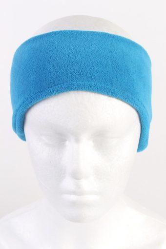 90s Pocapiano Fleece Headband Blue