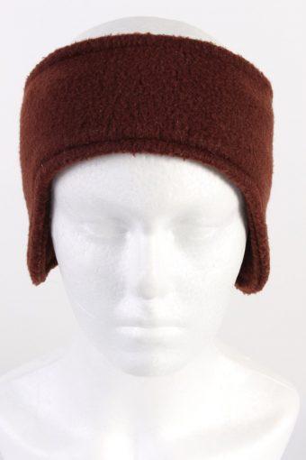 90s Fleece Headband Brown