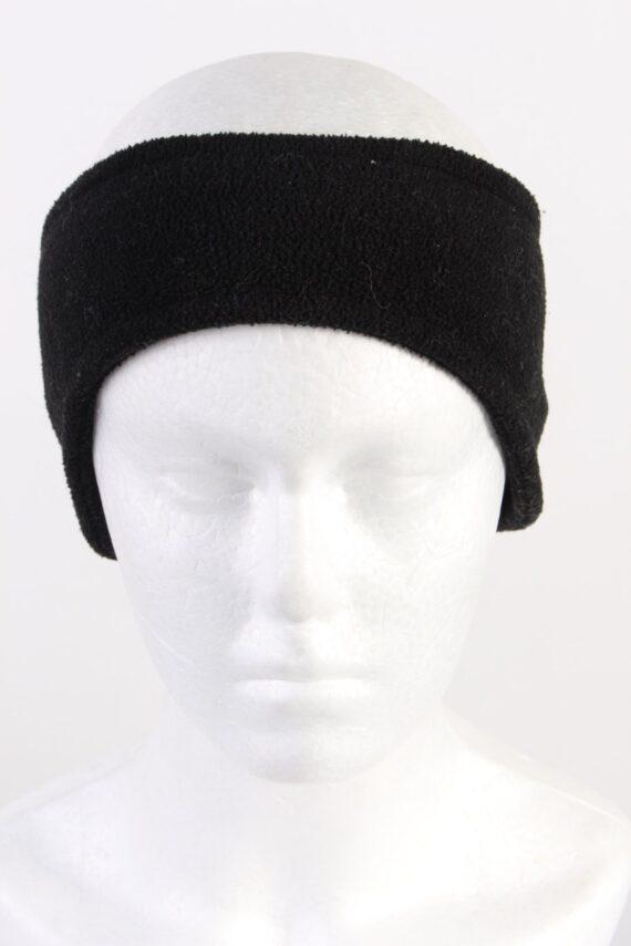 Vintage Fleece Headband Black HB070-0