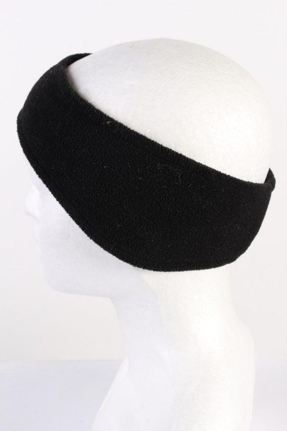 Vintage Fleece Headband Black HB070-118295