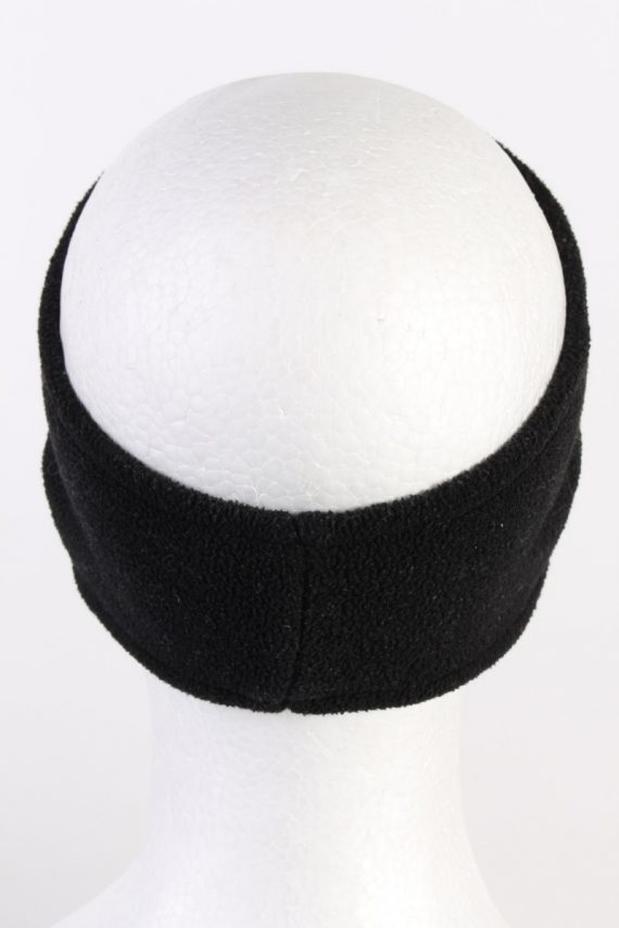 Vintage Fleece Headband Black HB070-118296